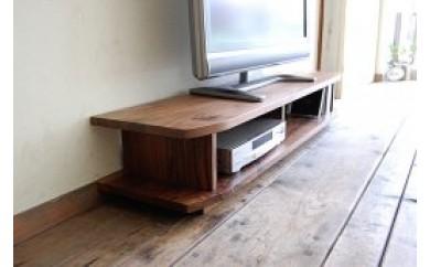 BC03 『無垢材のコンパクトテレビ台』miniテレビボード 120 ウォールナット【100,000pt】