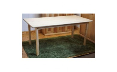 AC28なごみヒノキダイニングテーブル130×80高さ72センチ【385,000pt】