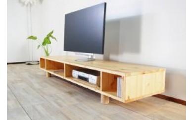 BC06 『シンプルナチュラルテレビ台』mocoテレビボード 180 パインウッド【100,000pt】