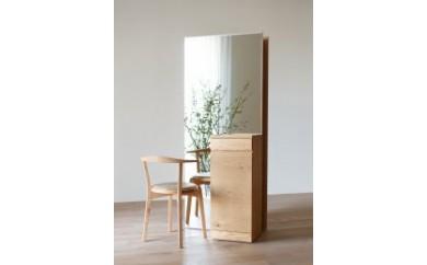 BG02 CARAMELLA Storage Mirror (R) oak【1,102,500pt】