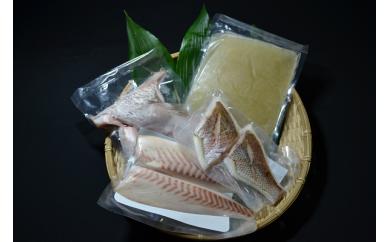 C26-2.愛媛八幡浜産 天然真鯛を食べつくす鯛めしセット