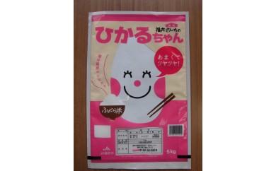 112 福井米コシヒカリ「ひかるちゃん」