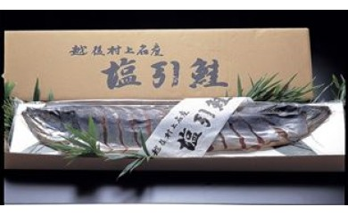【G07】村上産塩引鮭1本姿