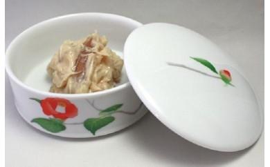 D-14 【数量限定】地元酒粕使用「海茸粕漬」と有田焼「つばき」香蘭社謹製