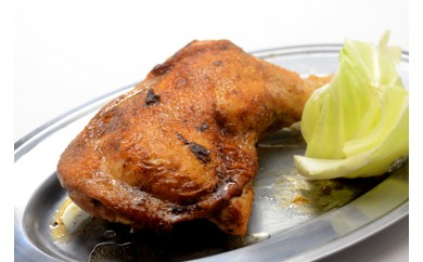 [№5803-0041]味付国産若鶏骨付き肉(冷凍)