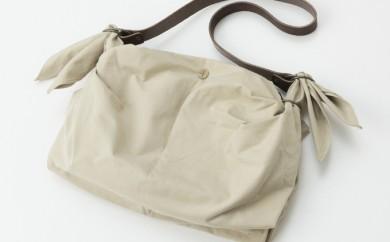 [№5862-0135]尾道帆布×風呂敷ハンドショルダー(インナーバッグ付)