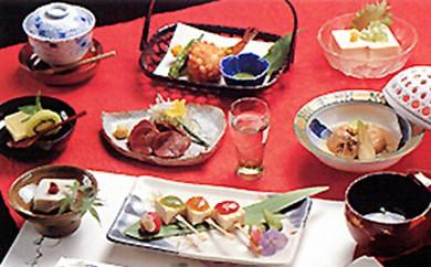 [№5862-0099]【お食事券】大山の伝統豆腐料理・お楽しみ3名様コース