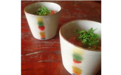 沖縄の伝統工芸 やちむん そばちょこ小鉢 ペア