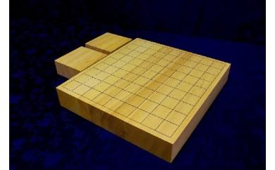 40-02_九州中央山地産「榧」の卓上将棋盤(駒台付)
