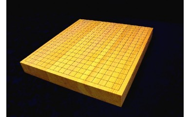 K-4003_九州中央山地産「榧」の卓上碁盤