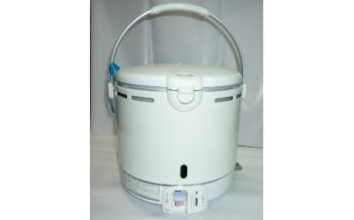 スピーディーにふっくらご飯を炊きあげるパロマLPガス1升炊飯器シンプルタイプ