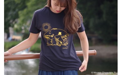 【ムーミン基金限定】オーガニックコットンTシャツ(フィッシング)