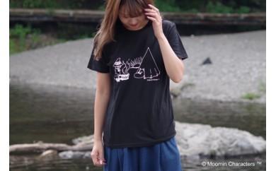 【ムーミン基金限定】オーガニックコットンTシャツ(キャンピング)
