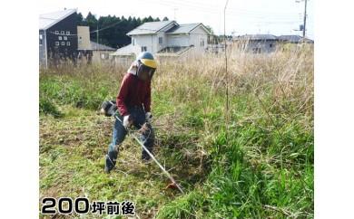 No.041 ふるさとの除草作業(200坪前後)
