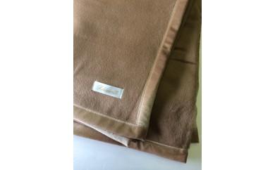 100-002 キャメル毛布(毛羽部分)