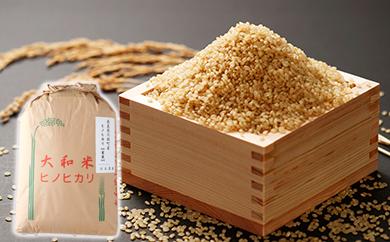 30-9 ひのひかり(有機肥料・特別栽培) 玄米 30kg 奈良県川西町産