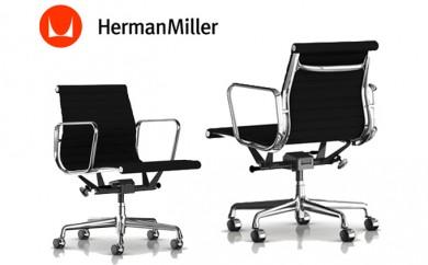 [№5809-0384]ハーマンミラー イームズ EAMES アルミナムグループマネジメントチェア 椅子