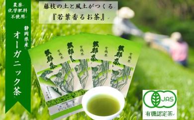 [№5809-0376]岡部茶 若葉の香りのオーガニック茶(有機栽培) 4本セット