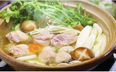 g20 みやざき地頭鶏鍋&炭火焼セット(つくね鍋)【1032081】