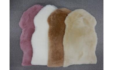 055-001ムートン(羊毛皮)一匹物 毛長35mm