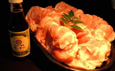 ブランド鶏「四万十鶏モモ肉」なんと2kg!と須崎の老舗店醤油セット
