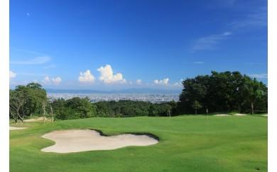 【18-04】箕面ゴルフ プレー券(1組4名分)(土日祝祭日 限定)
