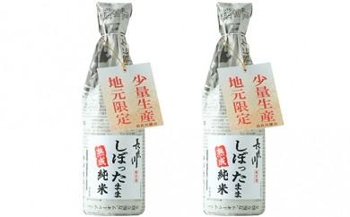 [№5787-0075]長良川 しぼったまま 熟成純米 720ml 2本セット