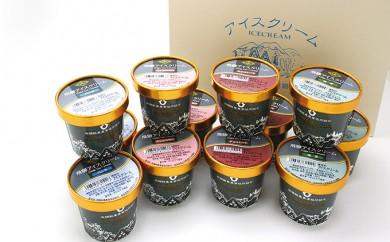 [№5787-0067]飛騨酪農農業協同組合 飛騨アイスクリームギフト 12個入