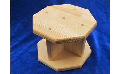D-092 手作り木製 正座用補助椅子