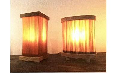 木のランプ(木替えプロジェクト商品)