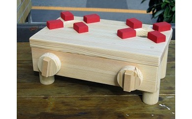 D-288 手作り木製 ままごと用ミニコンロ MK