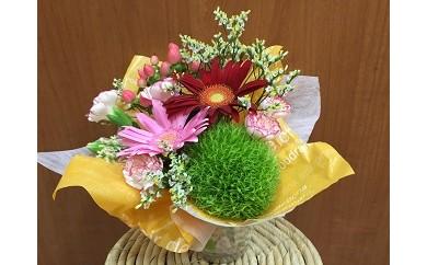 E-011 お祝いや記念日に!季節の花のミニアレンジメント(生花)