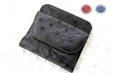 339 【数量限定】鹿屋産オーストリッチのコインケース