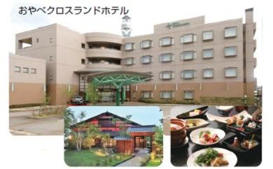 [D4] おやべクロスランドホテル ペア宿泊券