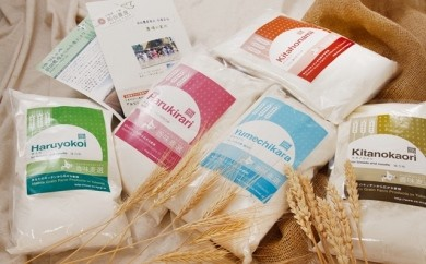 【Q003】本別町前田農産発料理に最適!「オールスター小麦粉5品種セット」