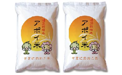 【101】アポイ米(ななつぼし)10kg