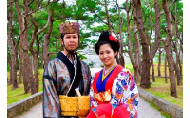 写真撮影付き琉装体験 寿コース
