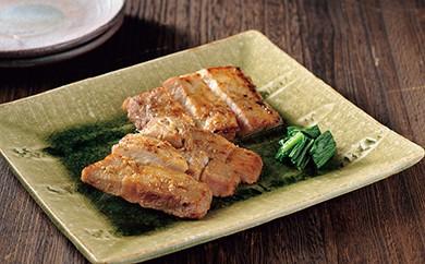 【M017】 鹿児島県産黒豚 モモ味噌漬 【25pt】