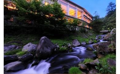 N-3 蓼科グランドホテル滝の湯(バイキング一泊二食) ペア宿泊券