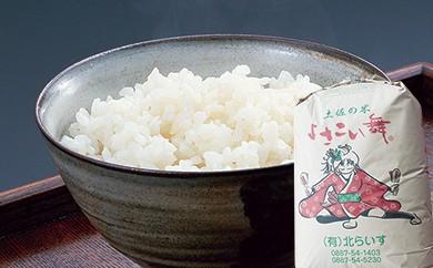 E-1  おいしいコシヒカリ! 土佐の米よさこい舞(20㎏)