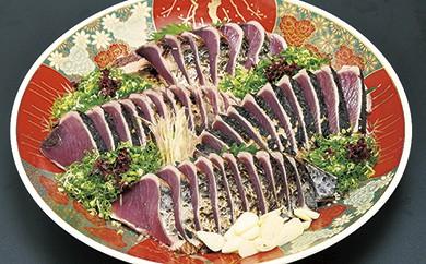 C-37 割烹吉野 炙り生鰹のタタキ