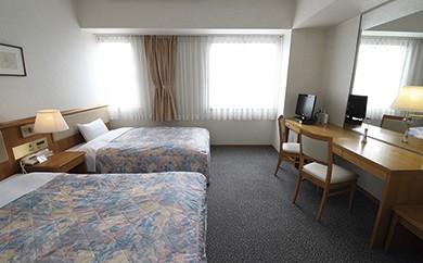 L-1 高知黒潮ホテル 一泊2食温泉付ペア利用 ツインルーム宿泊券