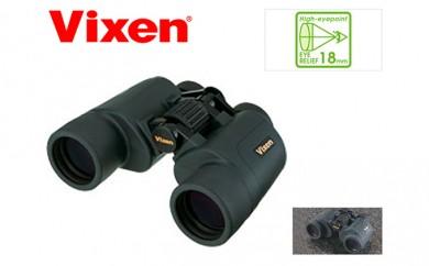[№5809-0530]Vixen ビクセン 双眼鏡 アスコット ZR8×42WP(W)