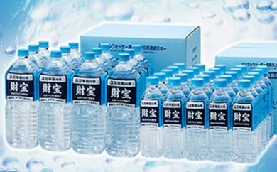 [№5750-0069]日本が選んだ水 財宝2L×12本+財宝500ml×25本