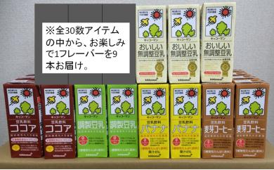 [№5787-0072]お楽しみ付き キッコーマン豆乳満喫便(200ml×54本)