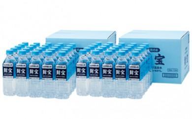 [№5750-0068]日本が選んだ水 財宝500ml×25本×2箱
