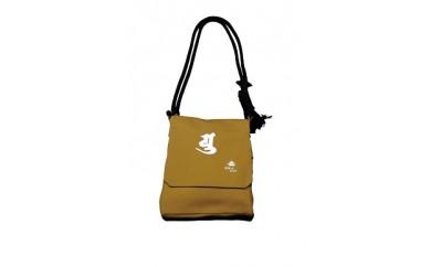 頭陀袋(梵字入・縦長タイプ)  金茶色