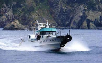 【AZ61】功明丸磯釣り(瀬渡し船)【16,000pt】