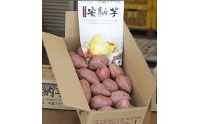 特典番号57.中園ファームの熟成安納芋(生芋)5kg 300pt