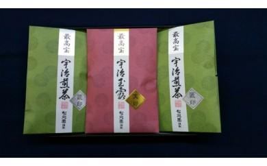 B-013 最高宝 宇治玉露煎茶詰合せ①